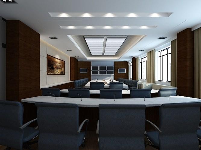Conference Room 0553D model