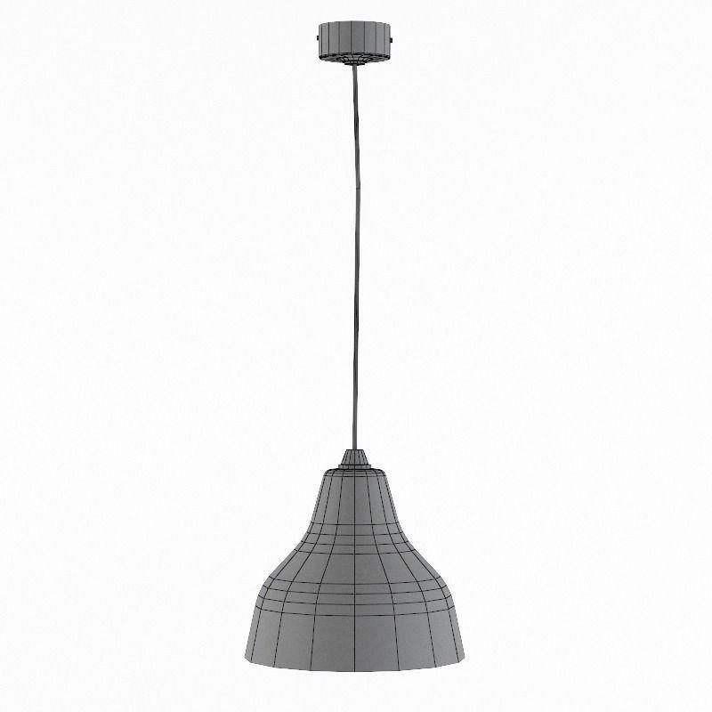 Pendant Lamp A007 3D Model MAX OBJ 3DS FBX