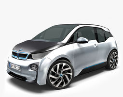 VR / AR ready 3d model bmw i3