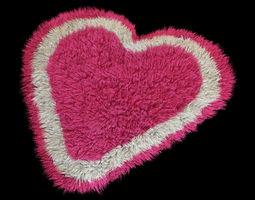 Rug heart 3D Model
