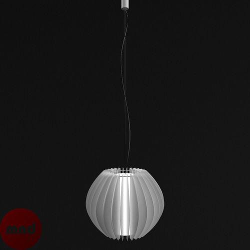 Hanging Full Moon light 3D Model .obj .3ds .fbx .c4d ...