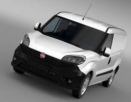 3D model Fiat Doblo Cargo 263 2017