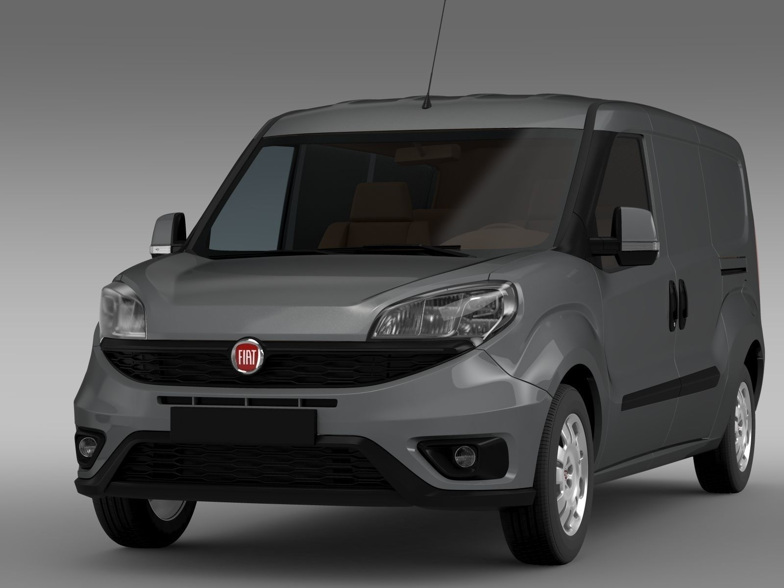 fiat doblo cargo maxi 263 2015 3d model max obj 3ds fbx. Black Bedroom Furniture Sets. Home Design Ideas