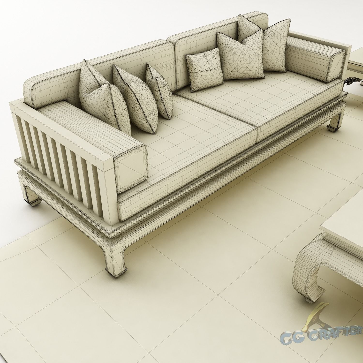 Sofa set 068 3d model max obj 3ds fbx mtl for Sofa 3d model