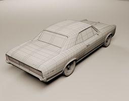 3D Pontiac GTO 1966
