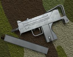 MAC-10 3D asset