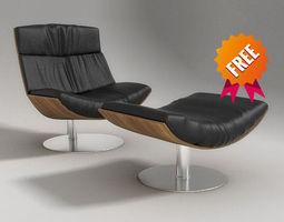 3d kara armchair desiree