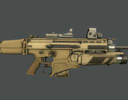 Scar MK 16 3D Model