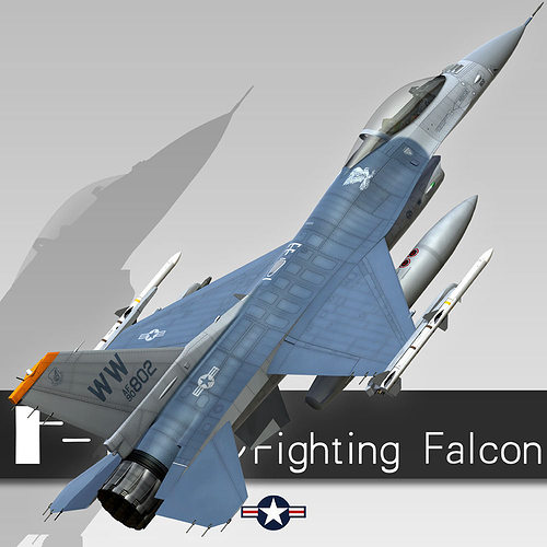 a description of fighting falcon