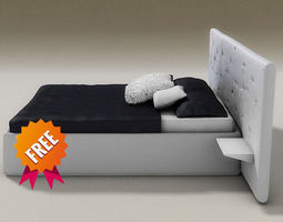 3d model chance bed desiree
