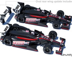 IndyCar 2012 DW001 3D Model