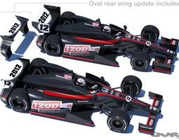 IndyCar 2012 DW001 3D Model