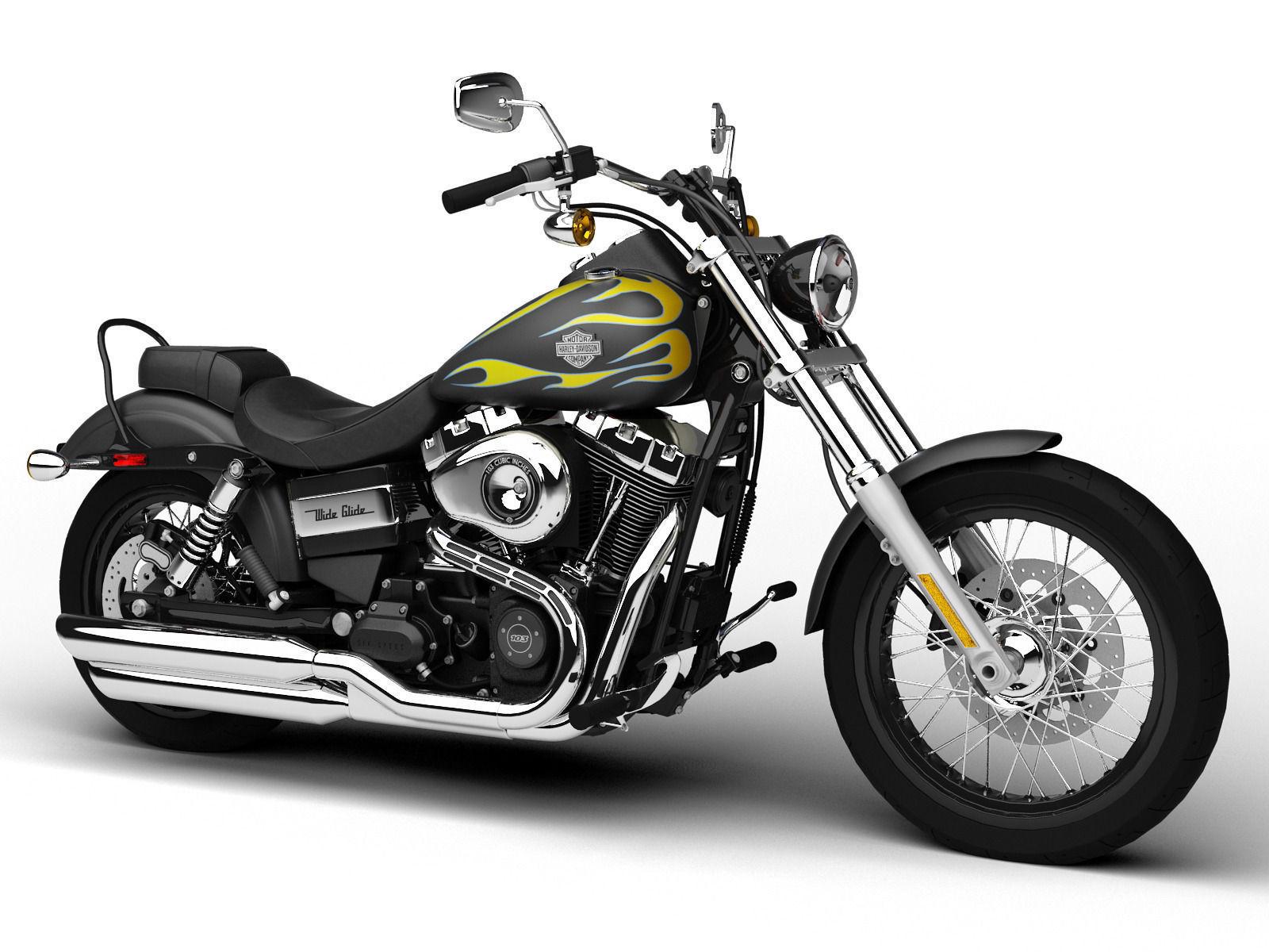 Harley Davidson Wide Glide Parts