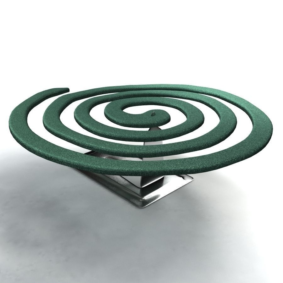 mosquito coil These mosquito coils release an insect repellent and smoke when lit, lasting for up to 8 hours.