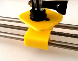 hand motion camera slider 3d printable model