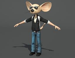Party Boy Mouse 3D Model
