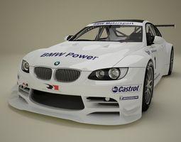 BMW M3 GTR E92 3D Model