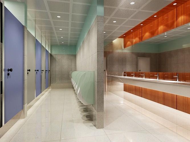 Public Bathroom 0803D model