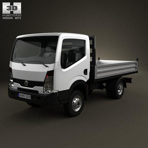 3d model nissan cabstar tipper truck 2006 cgtrader. Black Bedroom Furniture Sets. Home Design Ideas