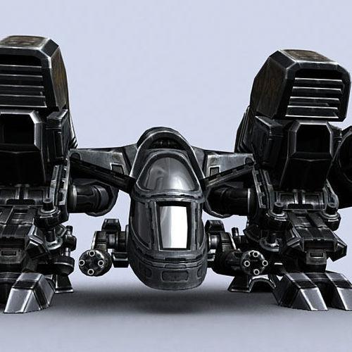 3DRT - Sci-Fi - Dropship 33D model