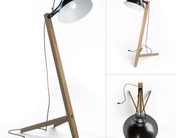 3d scandinavian floor lamp