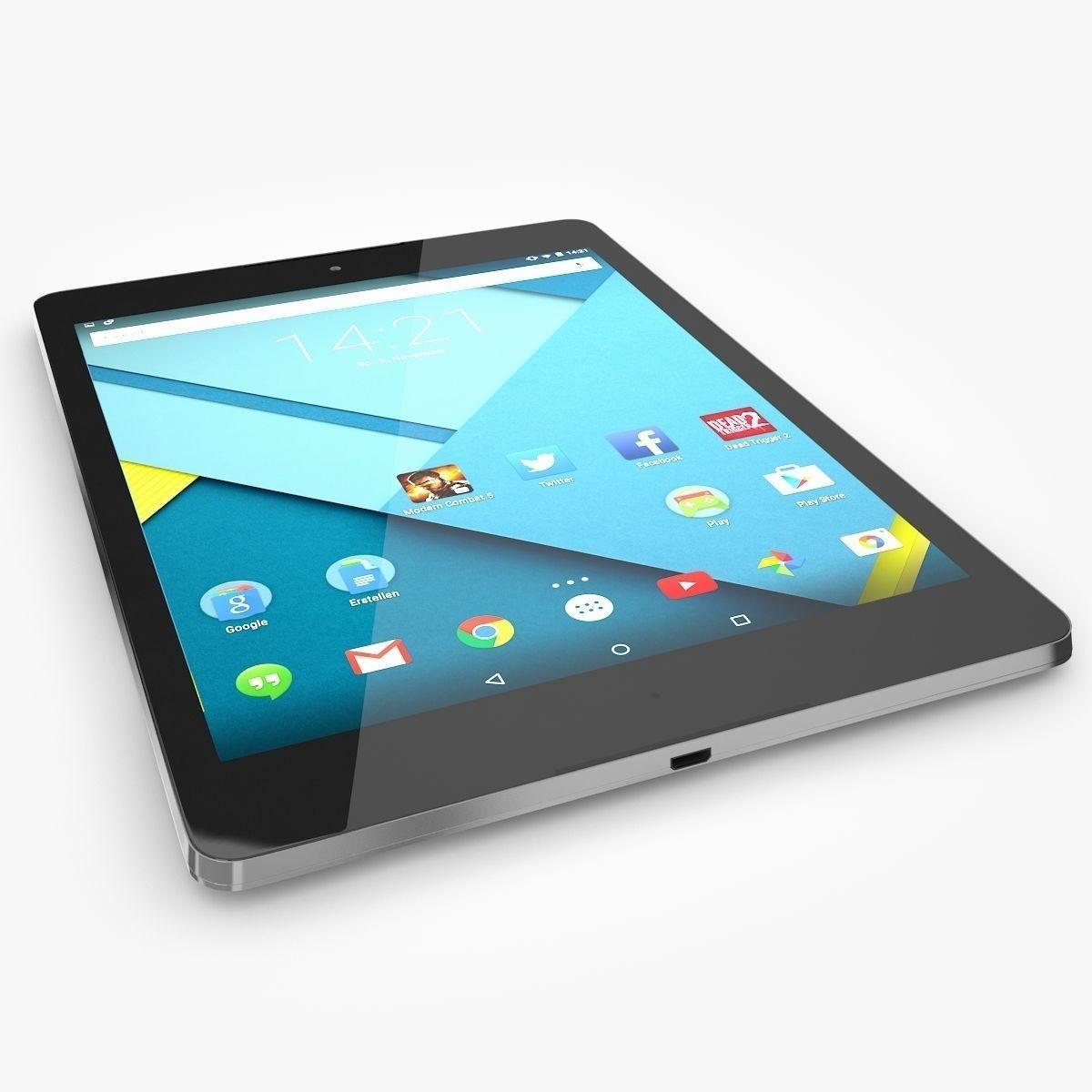Google Nexus 9 3D Model .max .obj .fbx .c4d .ma .mb