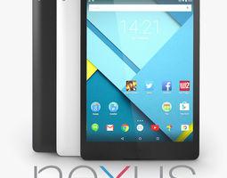 Google Nexus 9 3D Model