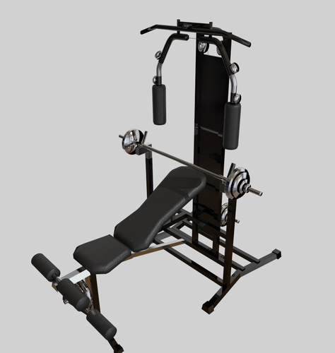 Weight Bench Modells 28 Images Weight Bench With Weights 3d Model Humster3d Flat Weight