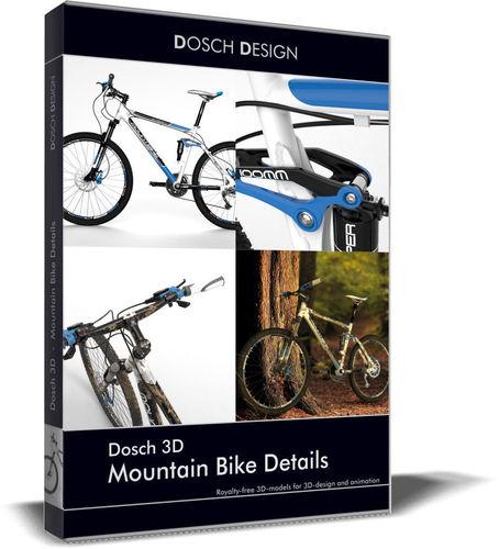 Dosch 3D - Mountain Bike Details3D model