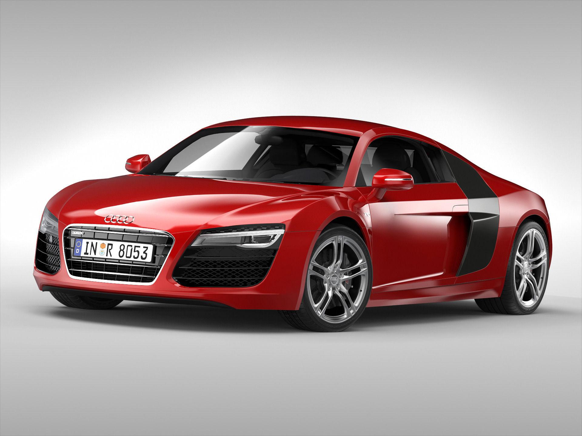 Audi R8 V10 Coupe 2013
