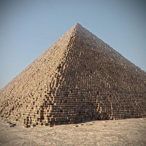 EGYPT GIZA PYRAMID3D model