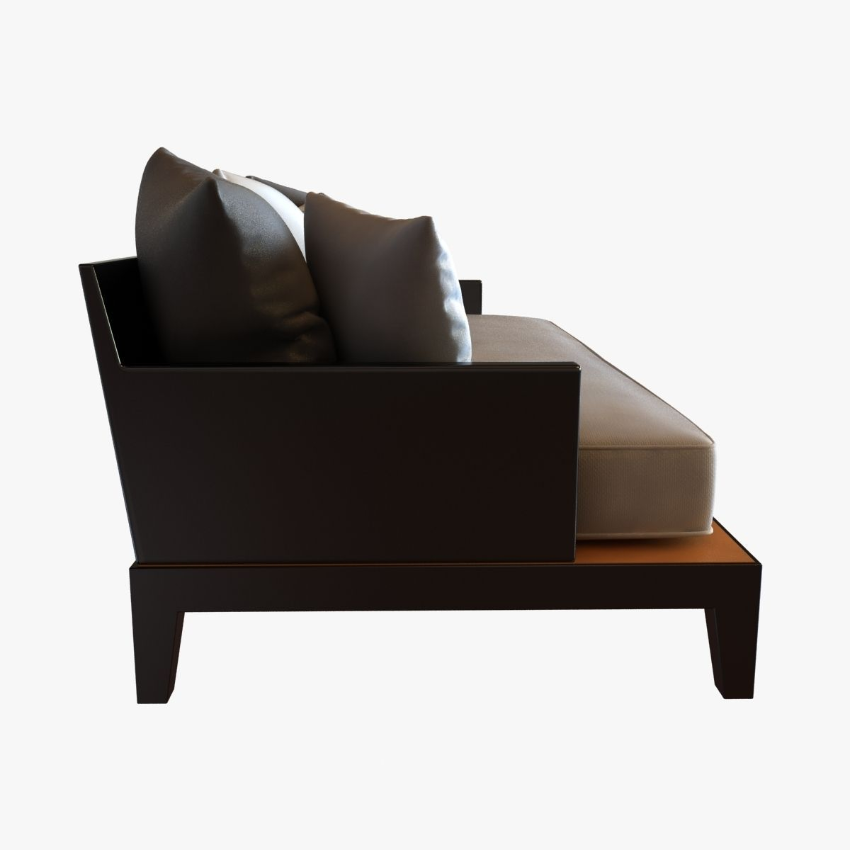 christian liaigre sofa for holly hunt opium 3D Model MAX