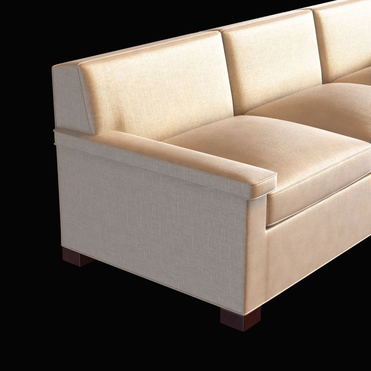 Anthony lawrence belfair contemporary char 3d model for Sofa bed 8101