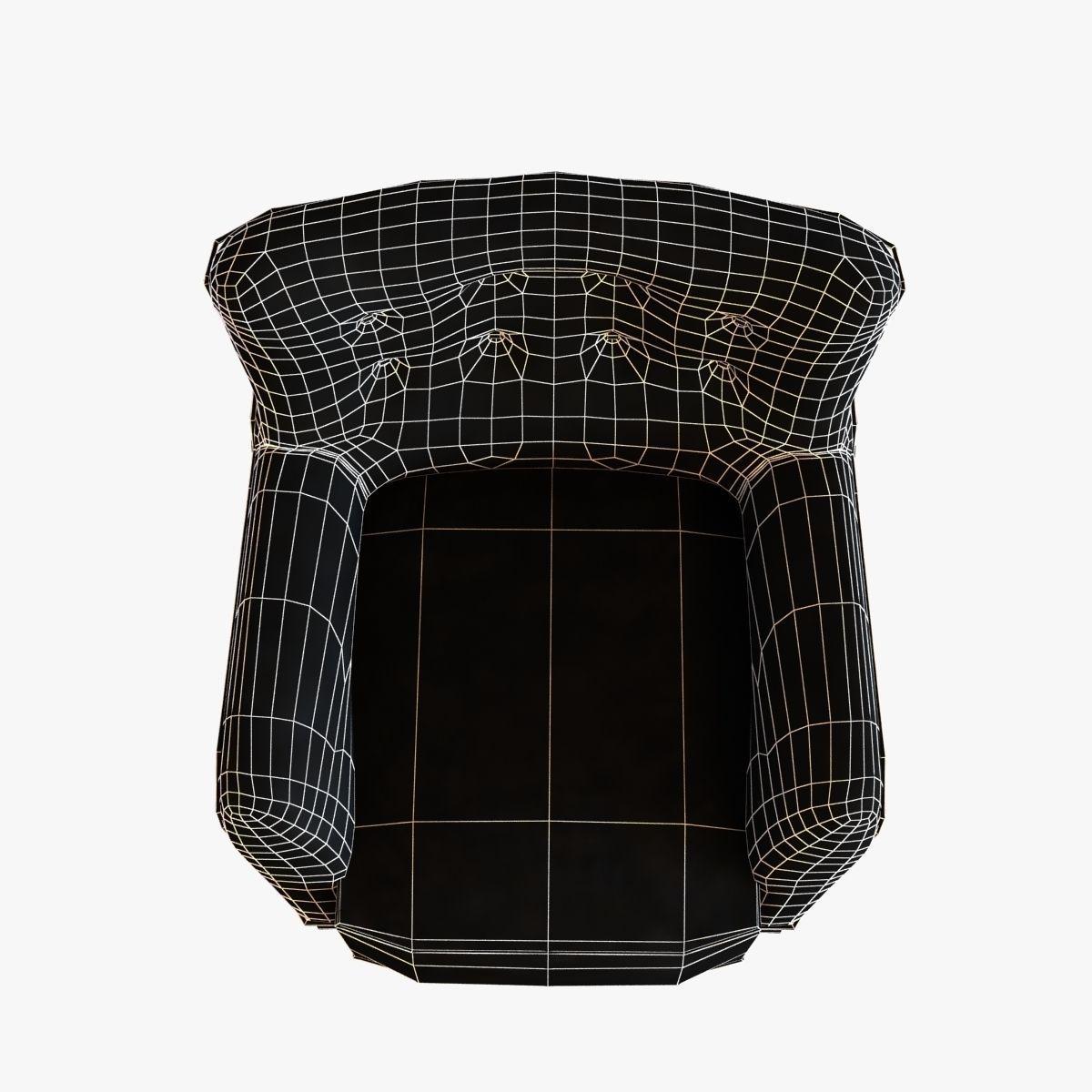 3d model fritz hansen easy chair cgtrader
