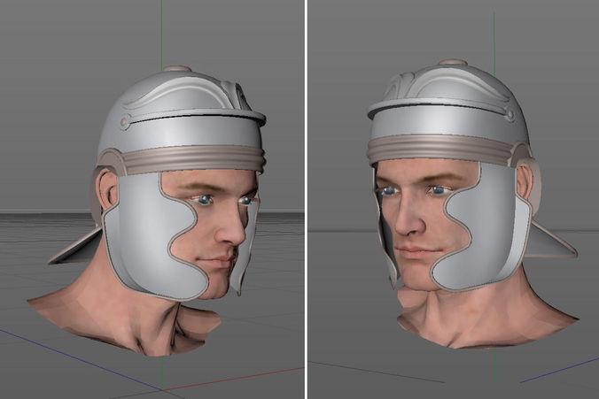 Legion Soldier Head3D model