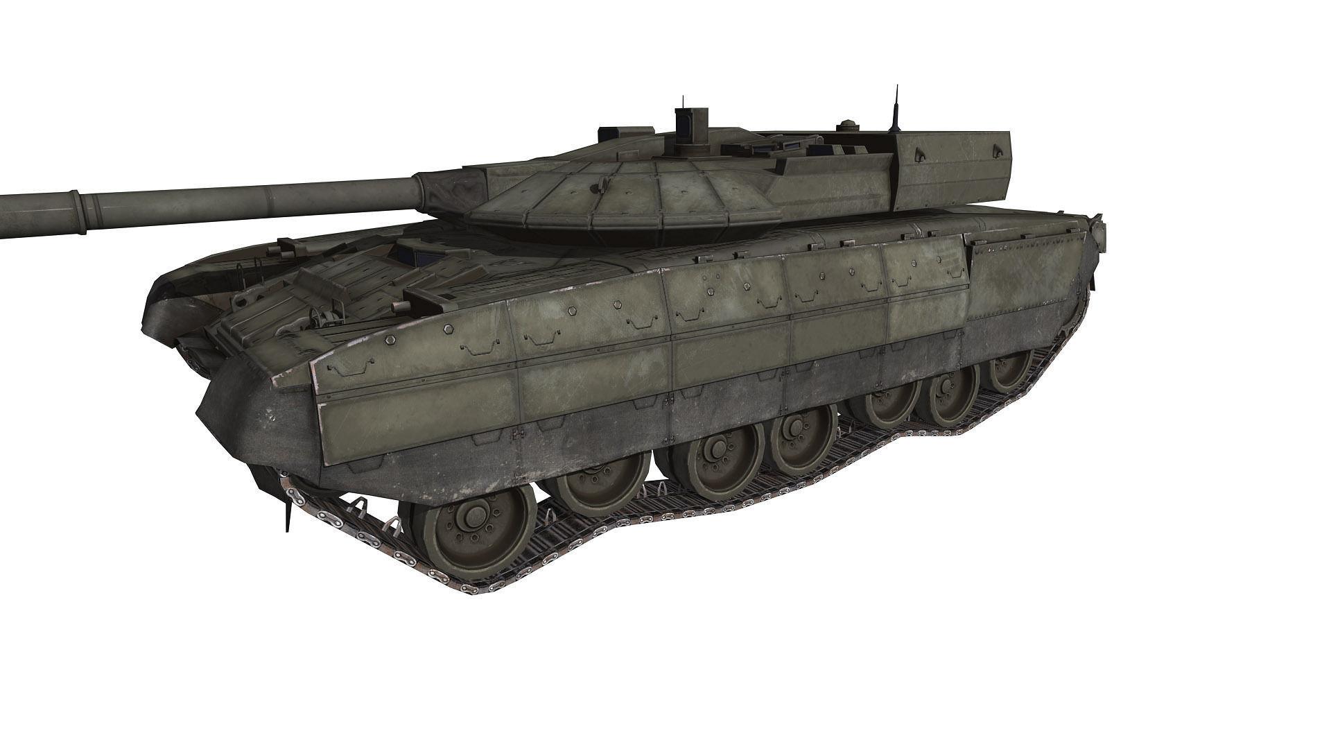 T95 Tank Black Eagle