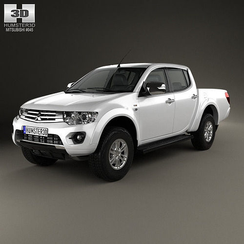 Mitsubishi Sports Car List: Mitsubishi L200 Triton Double Cab HPE 2014 3D Model MAX