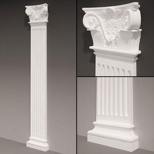 Pilaster antique type 43D model