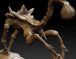 3d model creature character