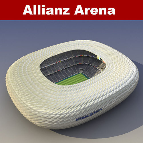 allianz arena 3d model max obj fbx mtl 1
