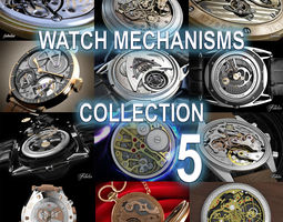 3D model Watch mechanisms coll 5