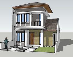 3D model Agathis Type B