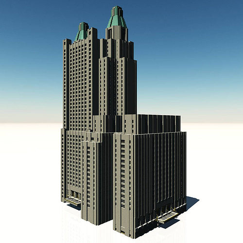 waldorf astoria hotel 3d model obj fbx dae How To Remodel Small Bathrooms Into Larger Dimensions For A Remodeling Plan