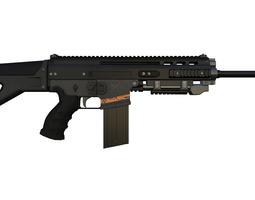 Omega Rifle 3D Model
