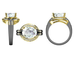 3d model jewelry r14238