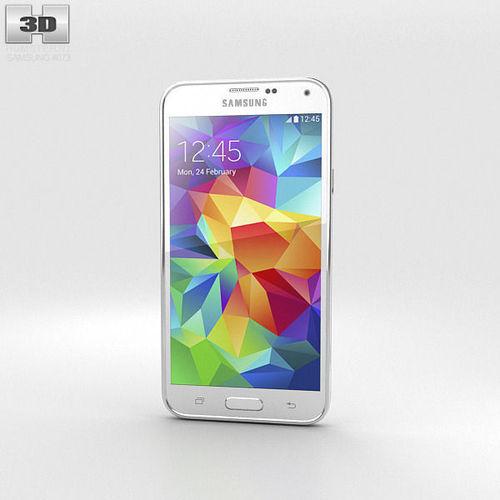 Samsung Galaxy S5 White3D model
