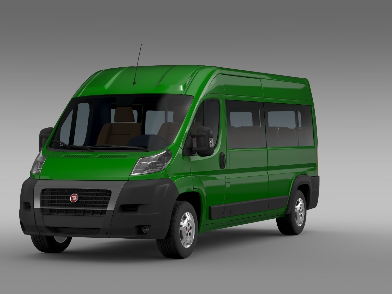 fiat ducato maxi bus l4h2 2006 2014 3d model max obj 3ds fbx c4d lwo lw lws. Black Bedroom Furniture Sets. Home Design Ideas