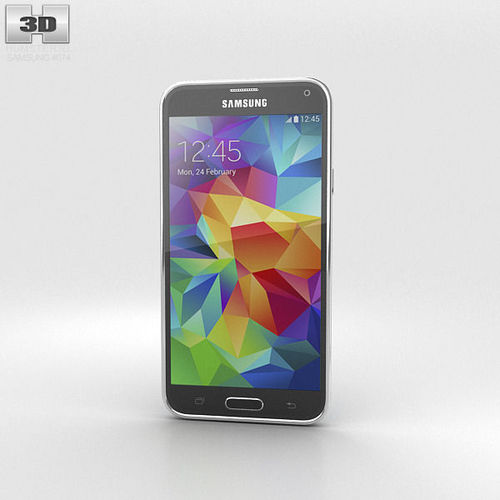 Samsung Galaxy S5 Blue3D model