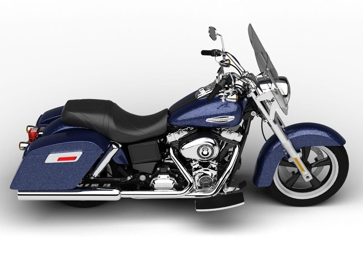 Harley Davidson Fld Dyna Switchback D Model Max Obj Ds Fbx C D Dxf on Harley Davidson Parts Identification