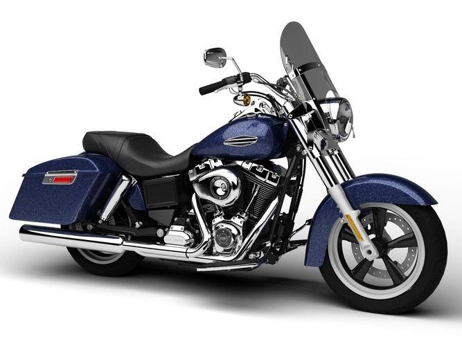 Harley-Davidson FLD Dyna Switchback 20153D model